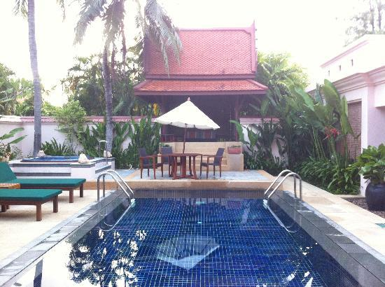 Banyan Tree Phuket: View of the Pool from two bedroom pool villa