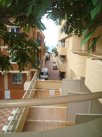 Rosamar & Spa: Widok z balkonu