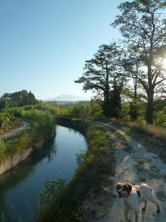 Le Mas au Portail Bleu: Nearby Canal walk