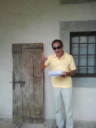 Montegabbione, Itália: Marco il proprietario