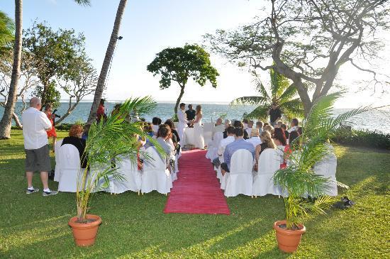 Shangri-La's Fijian Resort & Spa: the ceremony