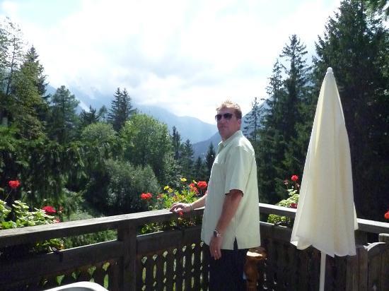Les Chalets de Philippe: our terrace