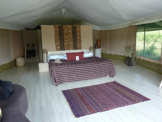 ‪‪Kicheche Valley Camp‬: spacious bedroom
