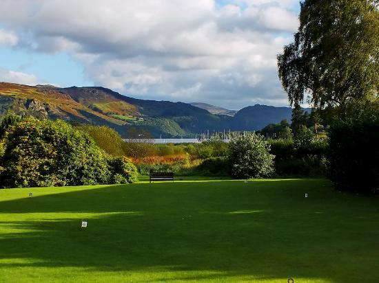 The Derwentwater Hotel: The view from the hotel grounds.