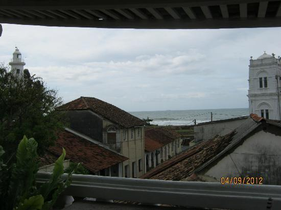 Mama's Galle Fort: View from dining area