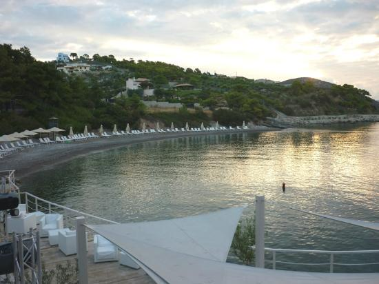 Premi re piscine vue de la salle manger for Club piscine lasalle