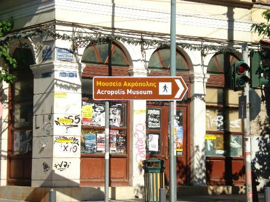 Acropolis Museum Boutique Hotel: Street