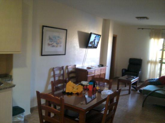 Hotel Galicia: living room