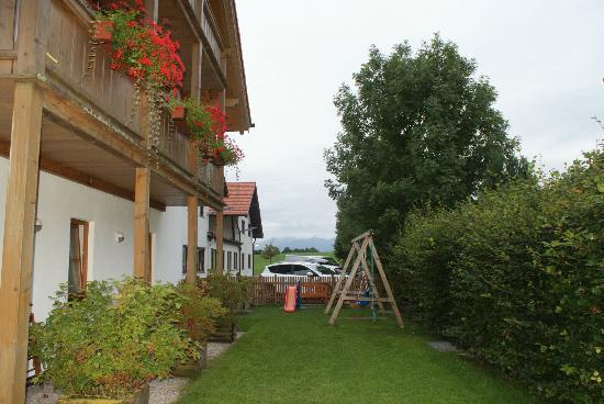Hotel Kramerwirt: Tam widać góry ale była zła pogoda.