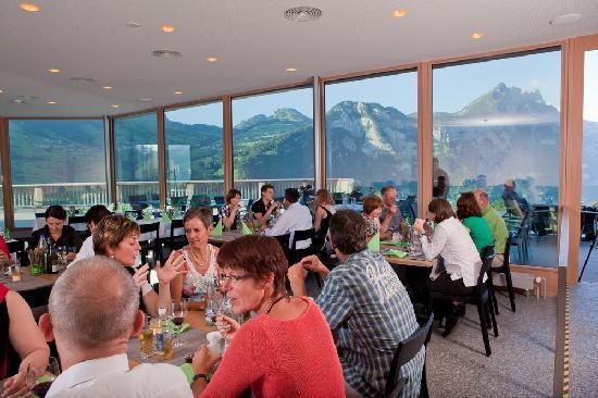 Seminarhotel Lihn: Restaurant Panorama Lihn