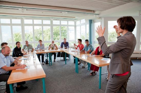 Seminarhotel Lihn: Seminarräume mit Panorama