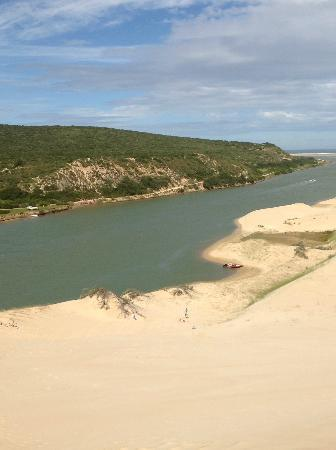 Sandboarding Sundays River: Spectacular views of the Sunday's River
