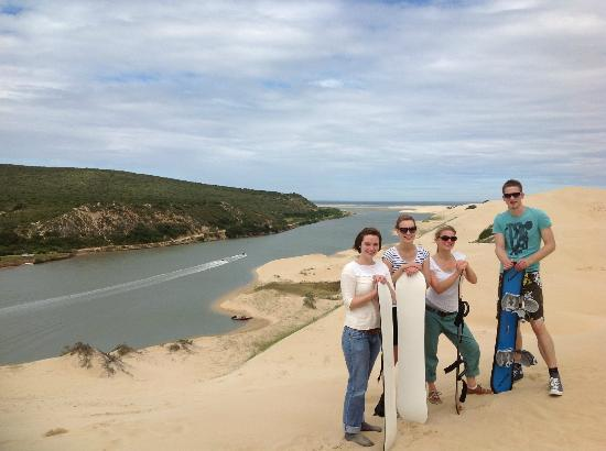 Sandboarding Sundays River: Awesome FUN day in theSUN