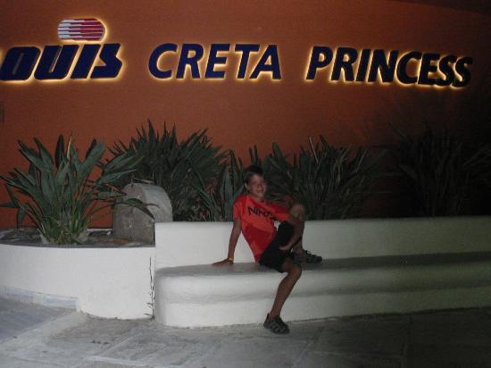Louis Creta Princess Beach Hotel: ΕΙΣΟΔΟΣ ΞΕΝΕΔΟΧΕΙΟΥ