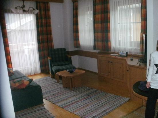 Brixnerhof: woonkamer