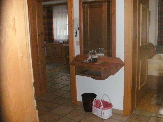 Brixnerhof: inkom appartement