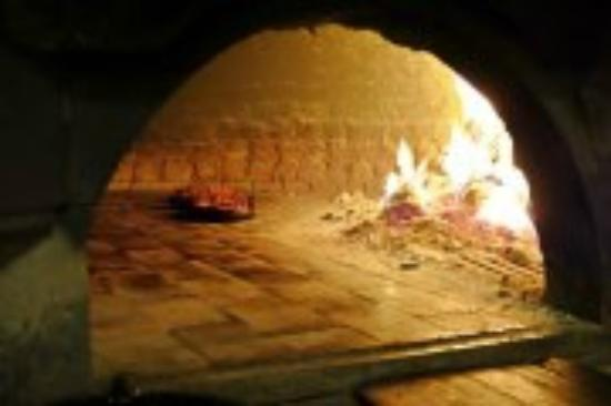 Cappadocia Pide Salonu : Wood fire place where pides are placed!