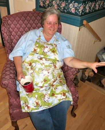 Red Door Bed & Breakfast : mary anne - our most likeable lady of the house