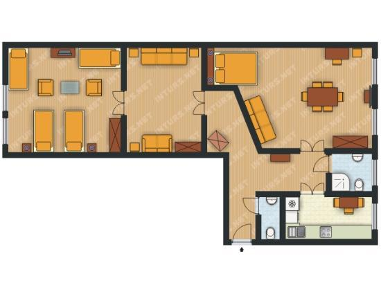 EnjoyKrakow Apartments : Apartament Grand