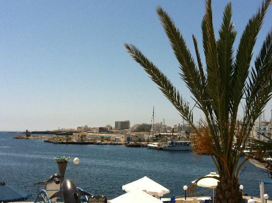 Marina Cap Monastir Aparthotel: Vue de ma chambre
