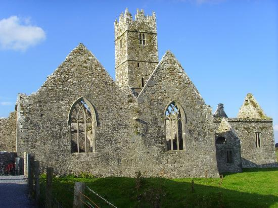 Ross Errily Friary: view from the entrance