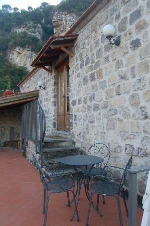 La Neffola Residence Sorrento: terrazza