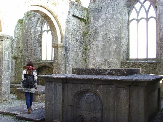 Ross Errily Friary: exploring the inside of the friary