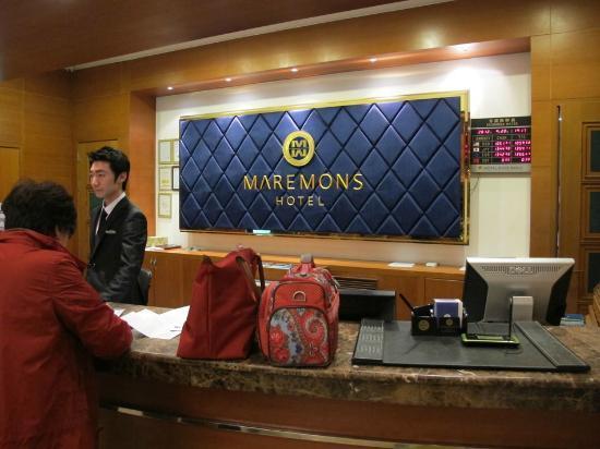 Hotel Maremons: Reception