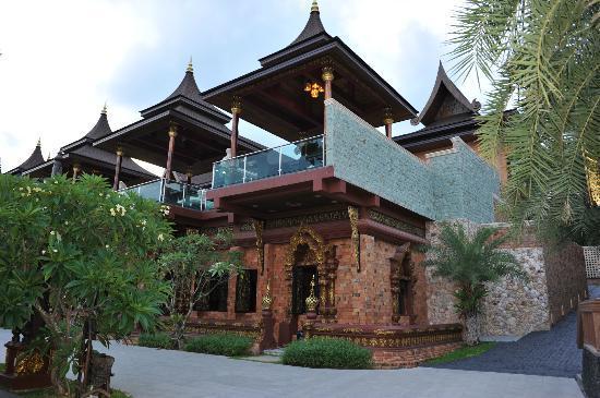 أماتارا بورا بول فيلاز: hotel 