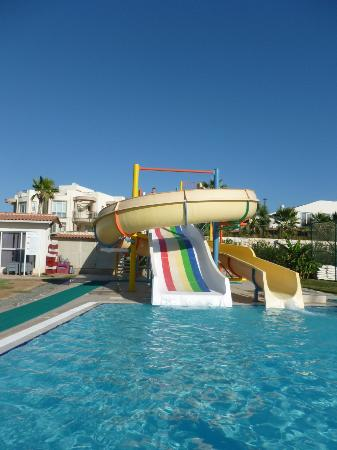 Apollonium Spa & Beach: Water slides