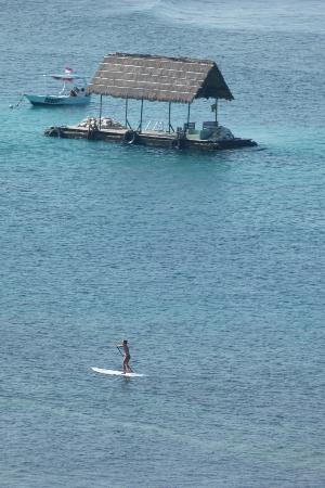 Lembongan Cliff Villas: view from room