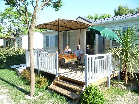 Camping Monplaisir : Locations Mobil Home