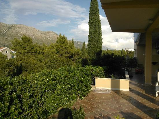 Villa Stanovic: balcony outside rooms 2 & 3