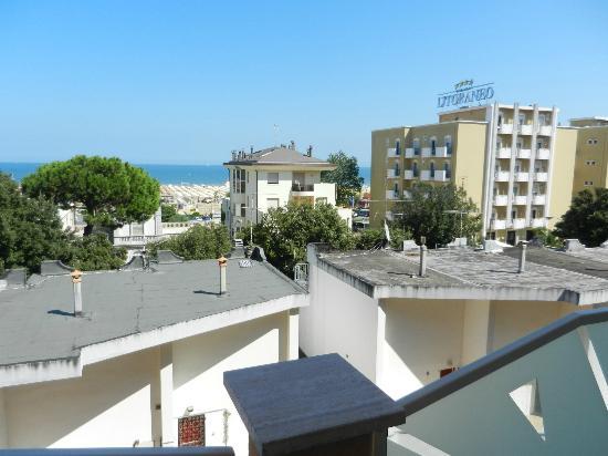 Hotel Radar: вид на море с балкона номера