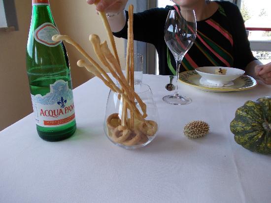 Ristorante La Parolina: i deliziosi grissini e taralli