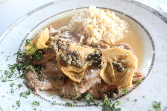 Porto Bello: Veal Marsala