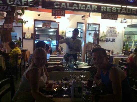 Calamar Restaurant : evening meals