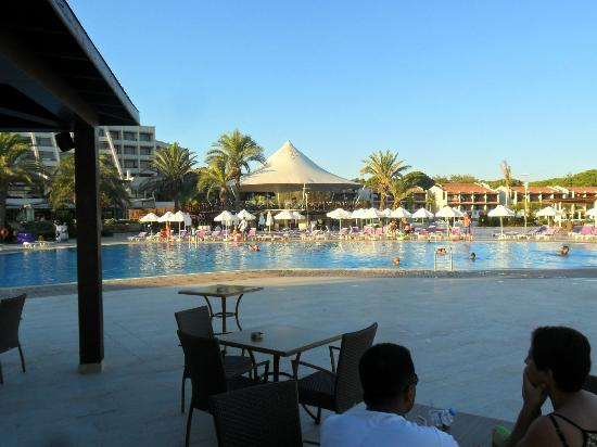 SENTIDO Zeynep Resort: View from pool bar