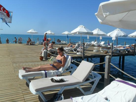 SENTIDO Zeynep Resort: The jetty