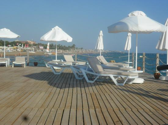 SENTIDO Zeynep Resort : The jetty