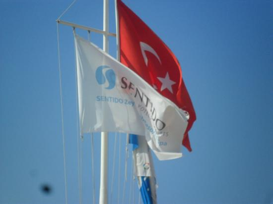 SENTIDO Zeynep Resort : Flags