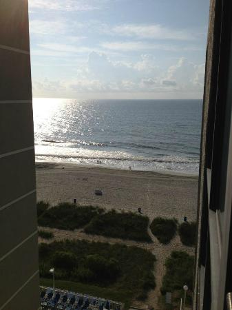 Palmetto Shores Oceanfront: View from 10th floor partial view