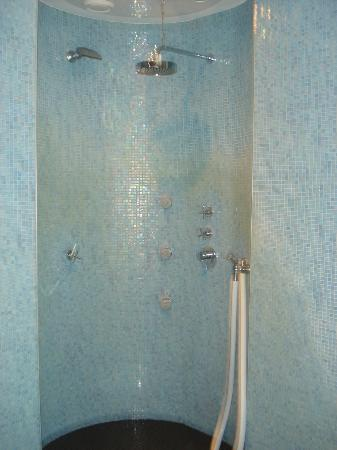 Pullman Berlin Schweizerhof: Hot/Cold shower in wellness area