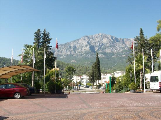 Orange County Resort Hotel Kemer: view to Toross
