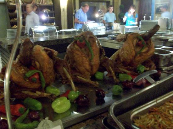 Orange County Resort Hotels: Turkey for Dinner