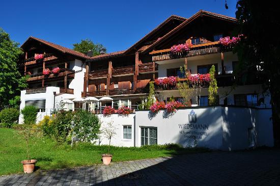 Hotel Wiedemann: veduta della facciata