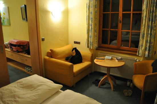 Hotel Wiedemann: salottino