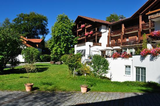 Hotel Wiedemann: giardino