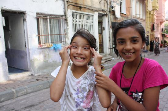 The Other Tour: These local kids were trying to emulate my eyes