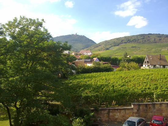 Hostellerie Munsch - Aux Ducs de Lorraine : Vue de notre balcon